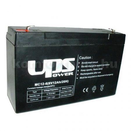 UPS 6V 12 Ah      akkumulátor