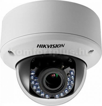 Hikvision DS-2CE56C0T-VPIR3F_28-12mm 1 MP THD varifokális vandálbiztos IR dómkamera
