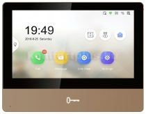 Hikvision DS-KH8350-WTE1-Gold IP video-kaputelefon beltéri egység