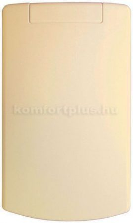 Központi porszívó Vajszínű műanyag, hosszúkás falicsatlakozó