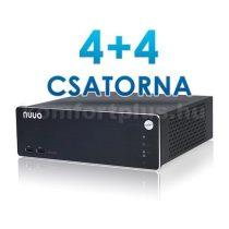 NUUO NS-1040-EU+4ch_up 8 csatornás hálózati video rögzítő