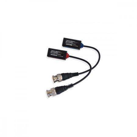 SP111-R-HD-P Professzionális 1 csatornás paszív HD videobalun szett, lengő BNC, párban 250m-ig