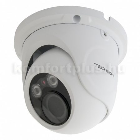 TechSon TCA EB1 E602 IH VF 2 Mpx, AHD/TVI/CVI/PAL kültéri eyeball kamera