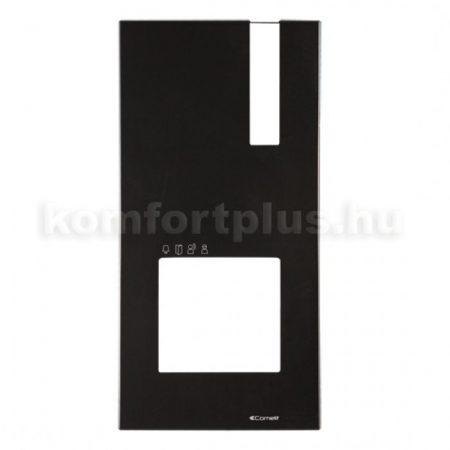 Comelit-Quadra-kulteri-kaputelefonhoz-fekete-elolap