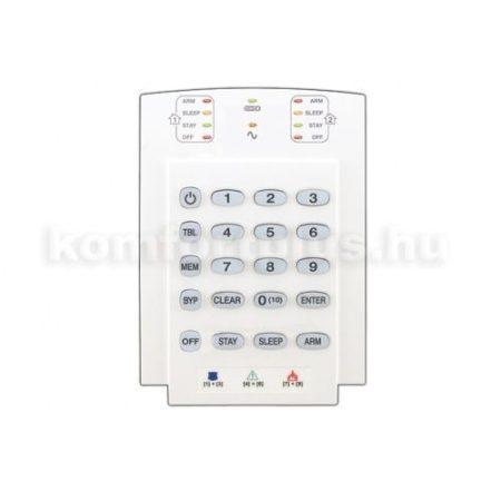 Paradox K10V 2 partíciós 10-zónás LED kezelő