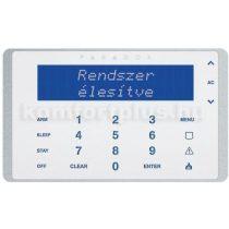 Paradox K656W érintőgombos LCD kezelő
