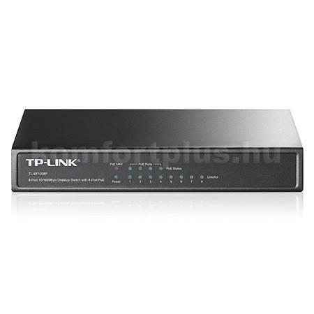 TL-SF1008P-PoE-4-LAN-port-4-Poe-port-switch