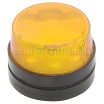 Vakus villogó sárga villogóval beltéri hang-fényjelző