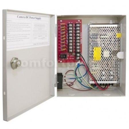 SPS-CCTV-10A 8CH tápegység