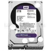 Western Digital HDD 3,5'' WD SATA 6 Gb/s Purple 2TB/110MB/s