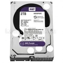 Western Digital HDD 3,5'' WD SATA 6 Gb/s Purple 2TB/110MB/s