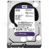 Western Digital HDD 3,5'' WD SATA 6 Gb/s Purple 4TB/110MB/s