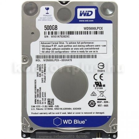 "Western Digital HDD 2,5"" WD SATA3 Blue 500GB/16MB"
