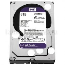 Western Digital HDD 3,5'' WD SATA3 Purple 6TB/64MB