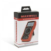 MAXWELL Digitális multiméter hőmérséklet méréssel