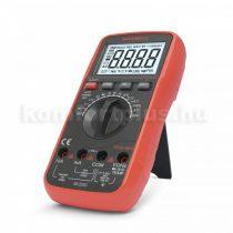 MAXWELL Digitális multiméter  (TRUE RMS) hőmérséklet méréssel