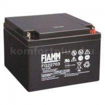 FIAMM 12V 27Ah savas akkumulátor