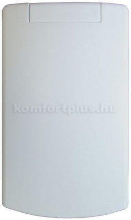 Központi porszívó Fehér műanyag hosszúkás falicsatlakozó