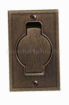 Központi porszívó Bronz fém falicsatlakozó