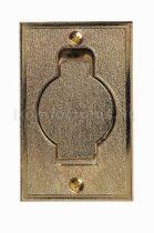 Központi porszívó Arany fém falicsatlakozó