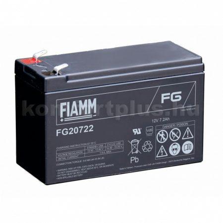 Fiamm 12V 7Ah tűzálló akkumulátor