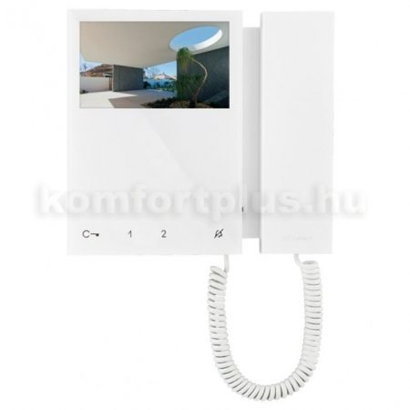 Comelit video kaputelefon Mini fehér beltéri monitor