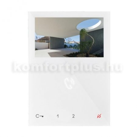 Comelit-6721W-belteri-monitor-kaputelefonhoz