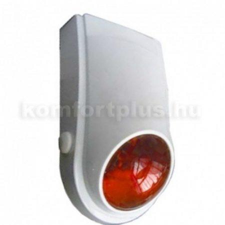 B03 Beltéri műanyag házas hang-fény jelző