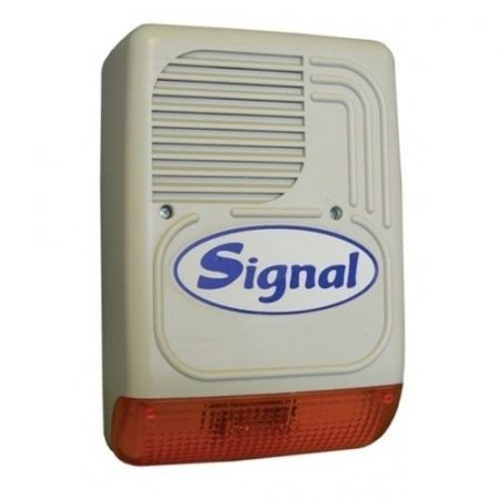 Signal PS 128 kültéri hang-fényjelző műanyag ház